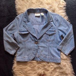 BOGO⚡️vintage Billblass denim crop jacket S/M
